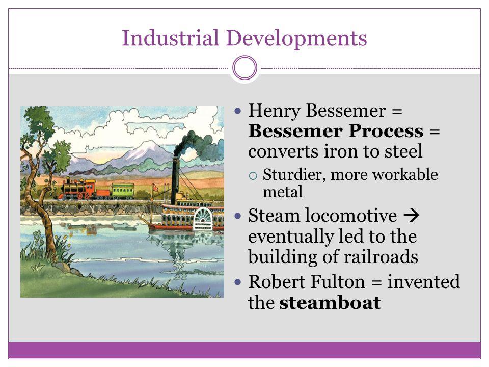 Industrial Developments
