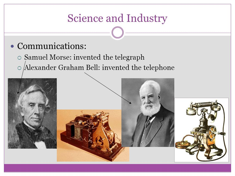 Science and Industry Communications:
