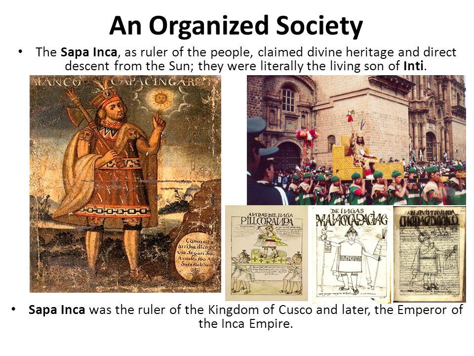 An Organized Society