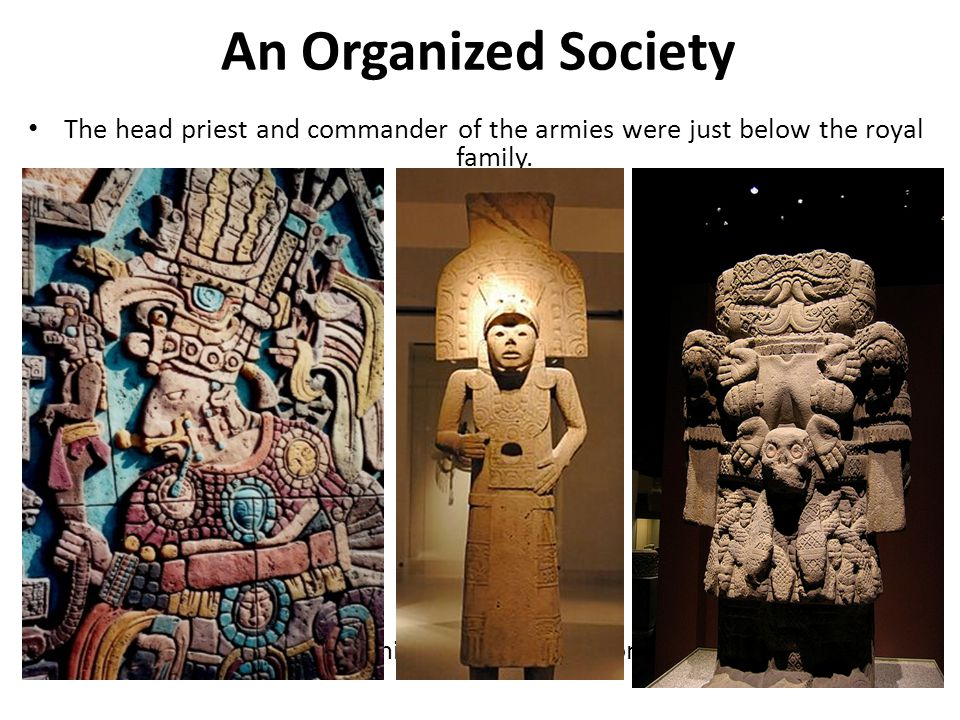 Next on the Incan hierarchy came regional army leaders.
