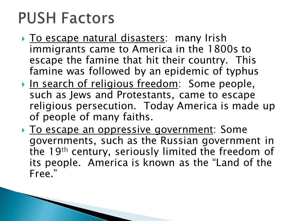 PUSH Factors