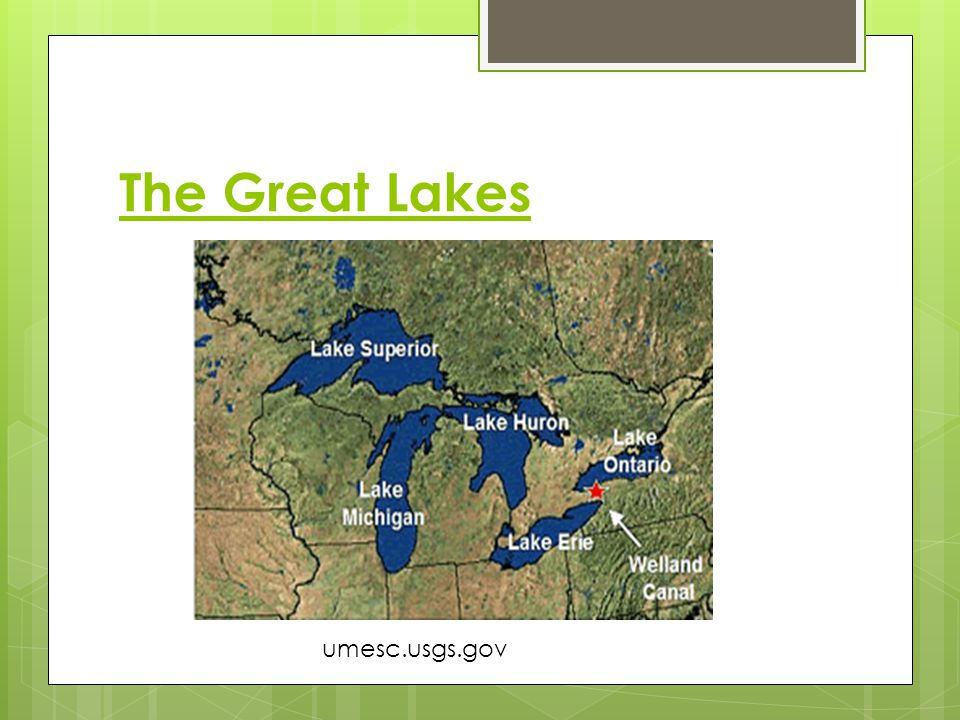 The Great Lakes umesc.usgs.gov