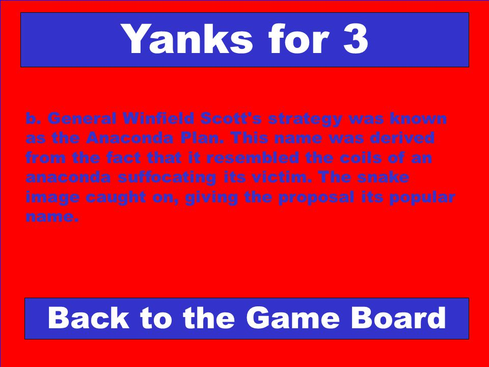 Yanks for 3 Back to the Game Board