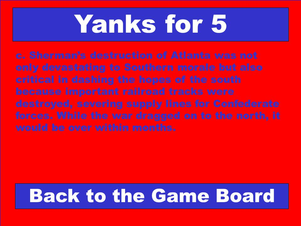 Yanks for 5 Back to the Game Board