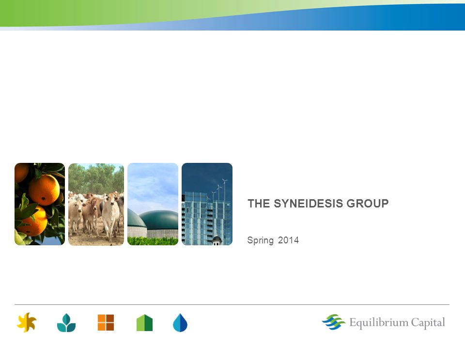 THE SYNEIDESIS GROUP Spring 2014