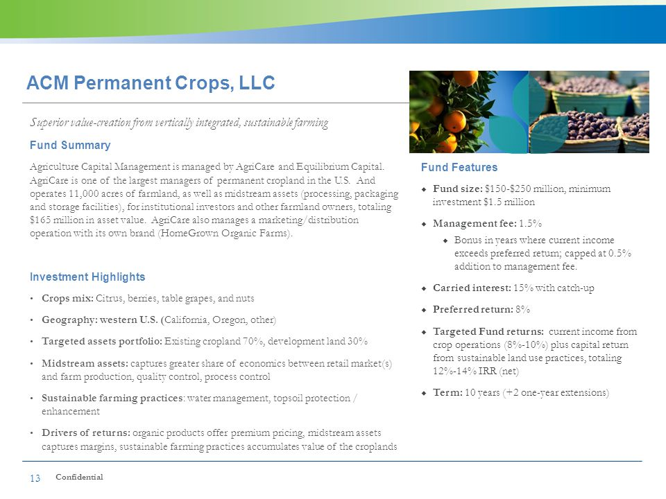 ACM Permanent Crops, LLC