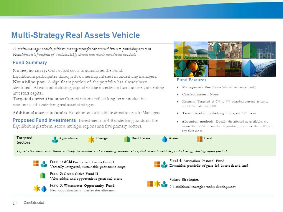 Multi-Strategy Real Assets Vehicle