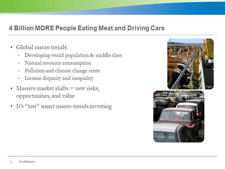 4 Billion MORE People Eating Meat and Driving Cars