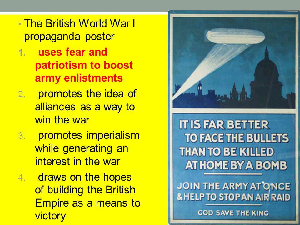 The British World War I propaganda poster