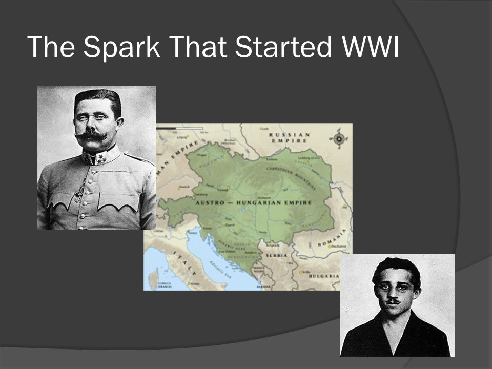 The Spark That Started WWI