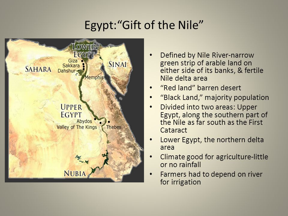 Egypt: Gift of the Nile