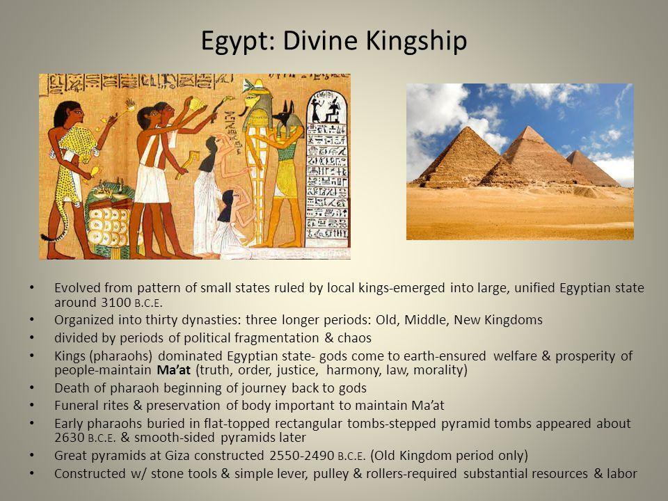 Egypt: Divine Kingship