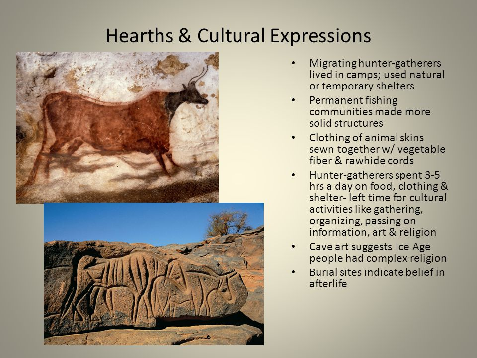 Hearths & Cultural Expressions