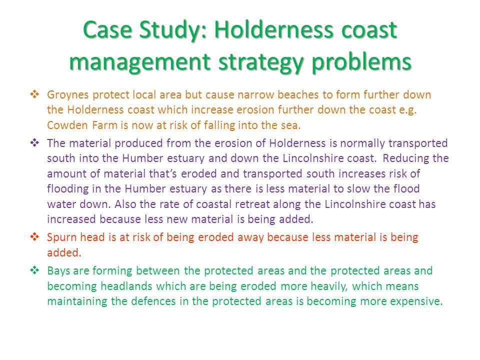Case Study: Holderness coast management strategy problems