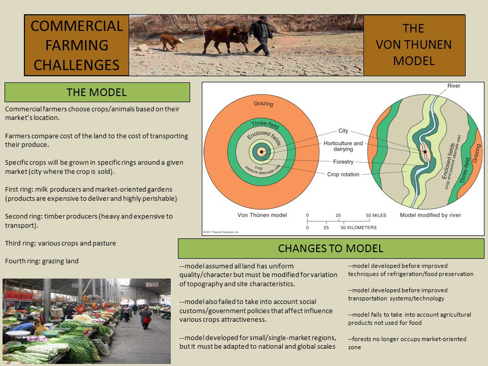 COMMERCIAL FARMING CHALLENGES