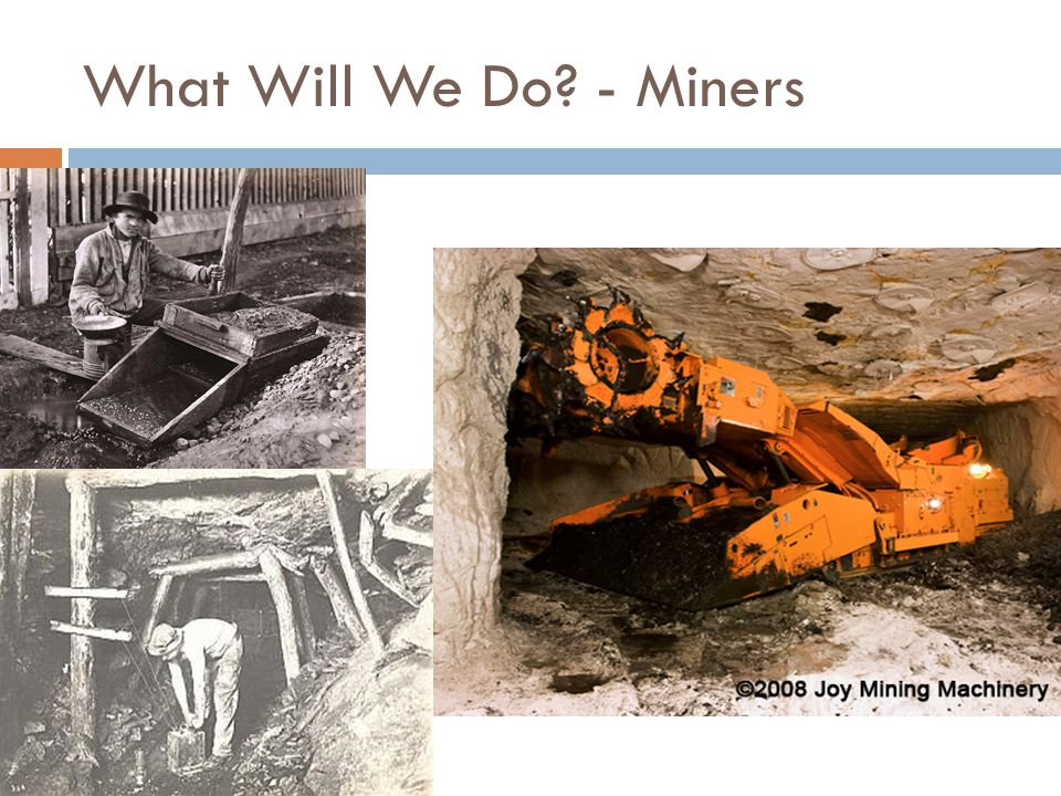 What Will We Do - Miners