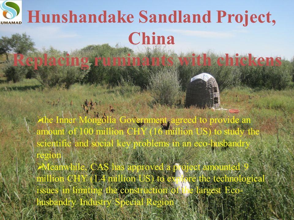 Hunshandake Sandland Project, China