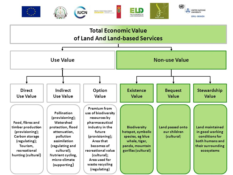 Total Economic Value of Land And Land-based Services