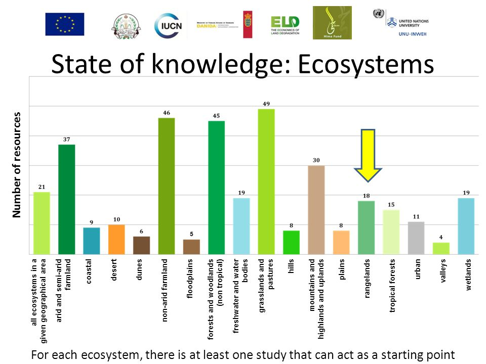 State of knowledge: Ecosystems