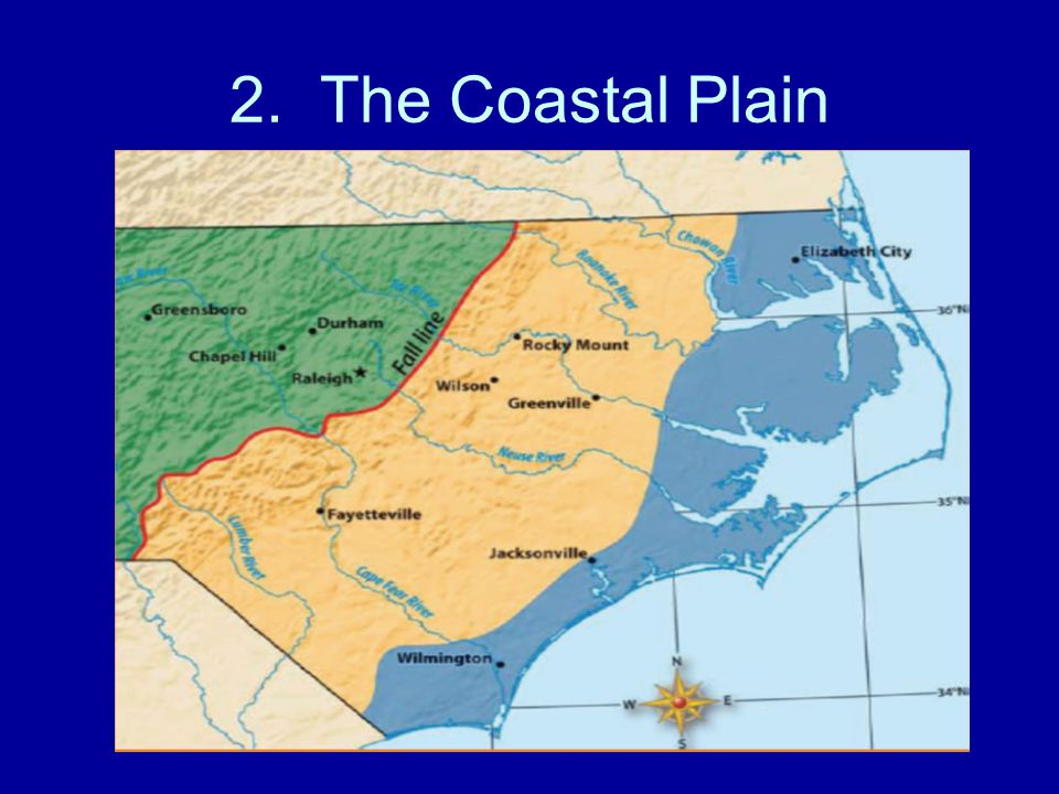 2. The Coastal Plain