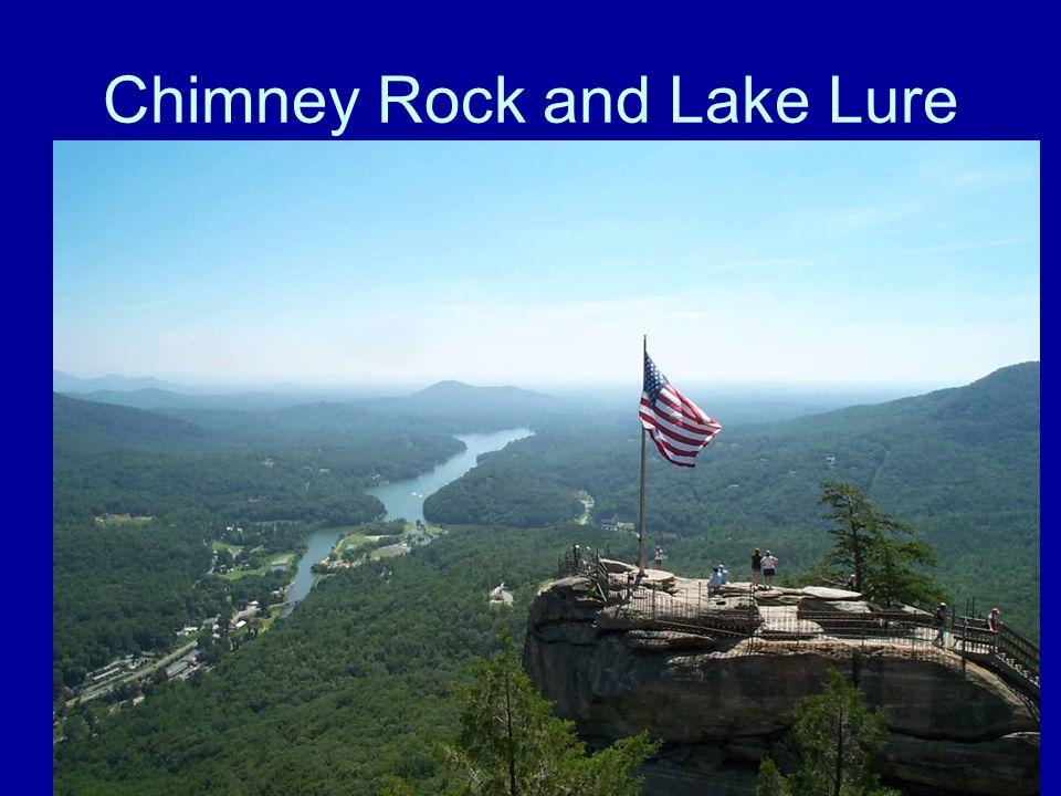 Chimney Rock and Lake Lure