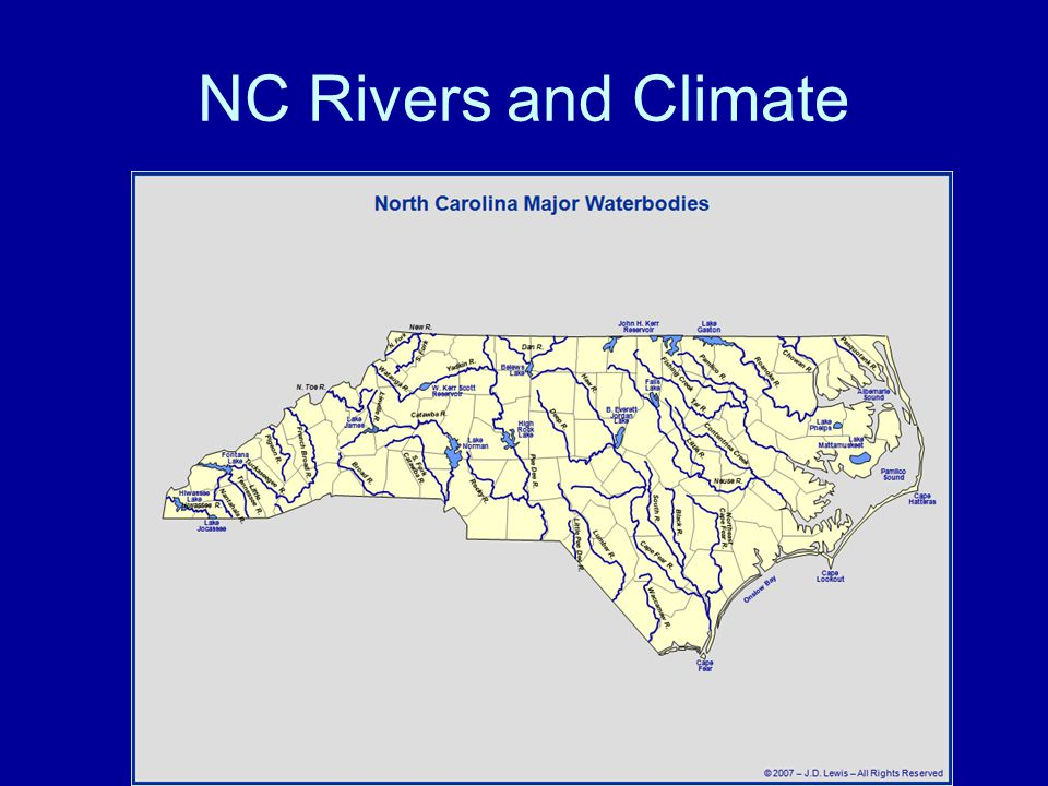 NC Rivers and Climate