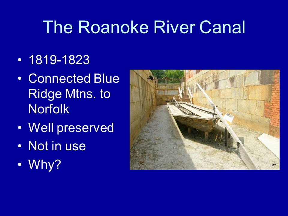 The Roanoke River Canal
