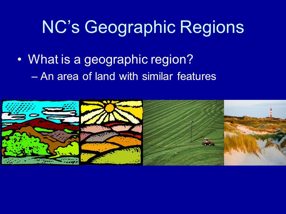 NC's Geographic Regions