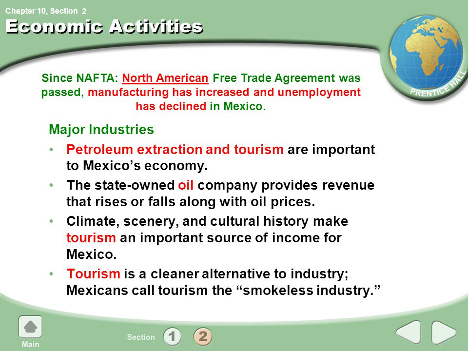 Economic Activities Major Industries