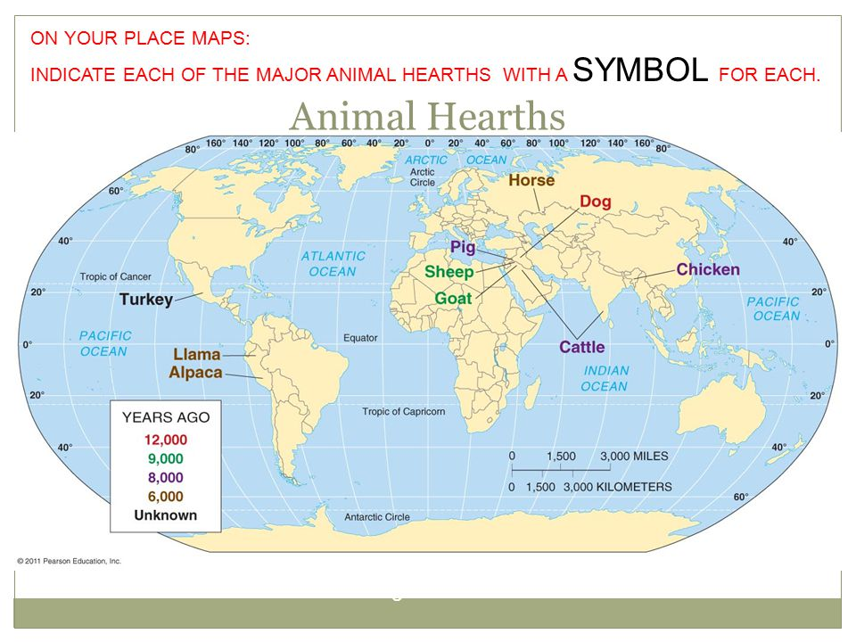 Animal Hearths Figure 10-3 ON YOUR PLACE MAPS: