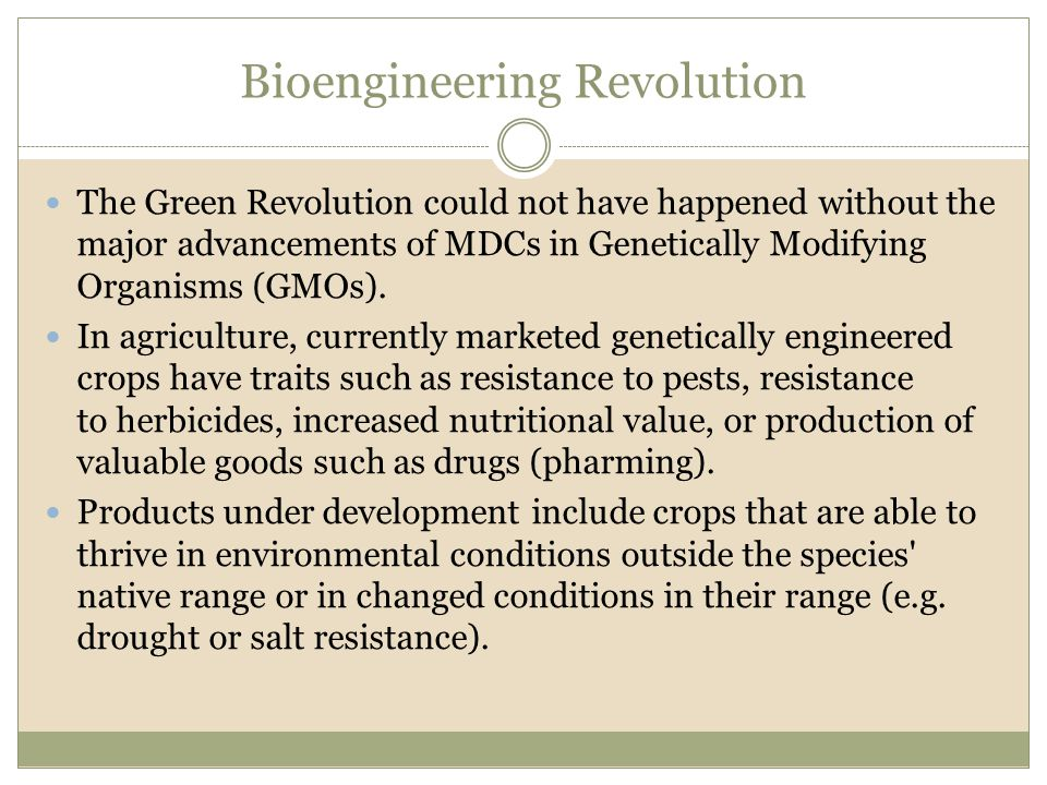 Bioengineering Revolution