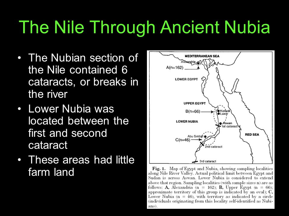 The Nile Through Ancient Nubia