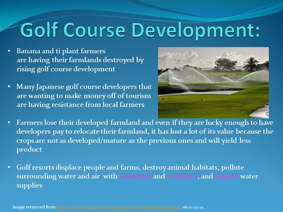 Golf Course Development: