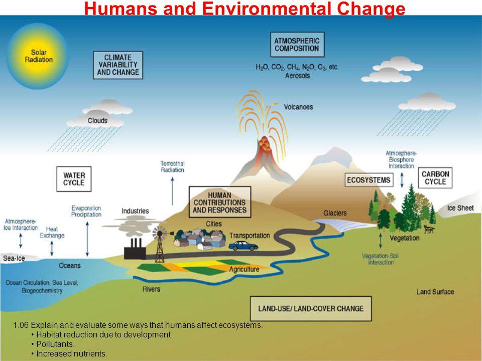 Humans and Environmental Change