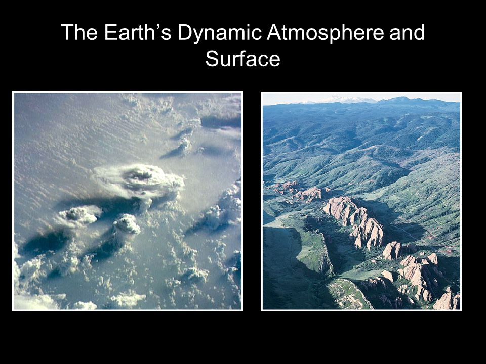 The Earth's Dynamic Atmosphere and Surface