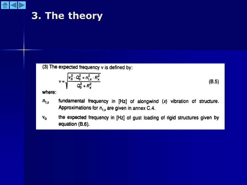 3. The theory
