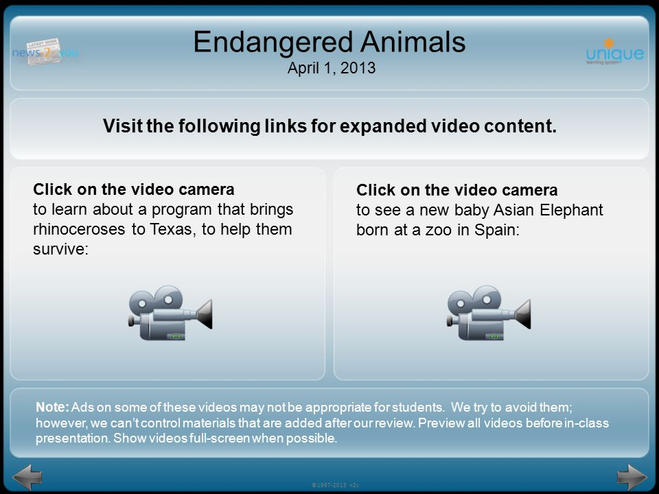 Visit the following links for expanded video content.