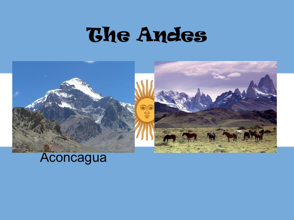 The Andes Aconcagua
