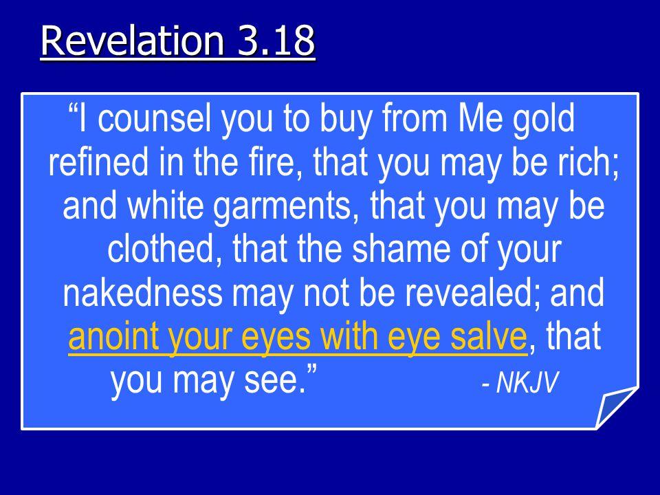 Revelation 3.18