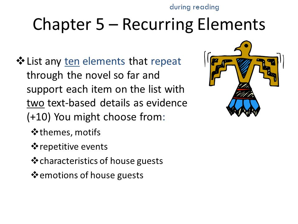 Chapter 5 – Recurring Elements