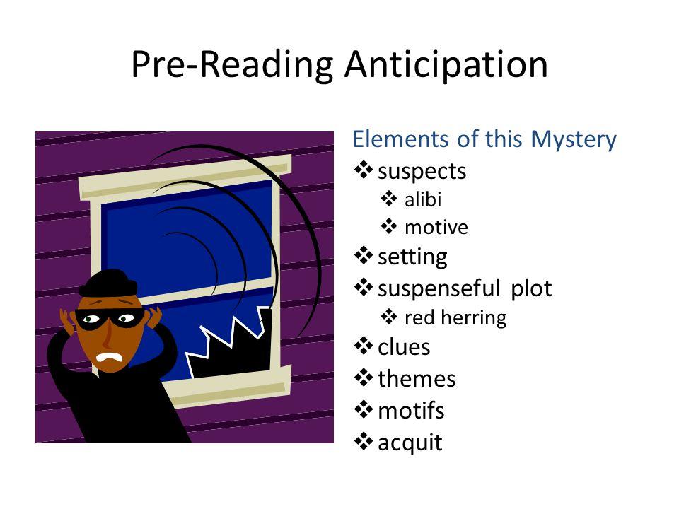 Pre-Reading Anticipation