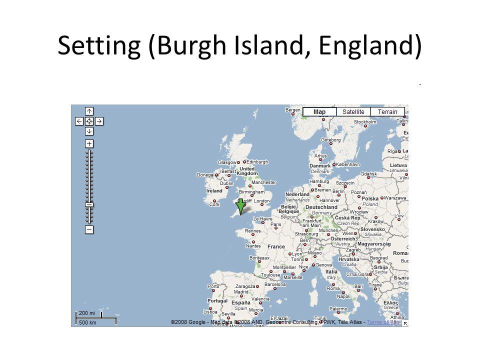Setting (Burgh Island, England)