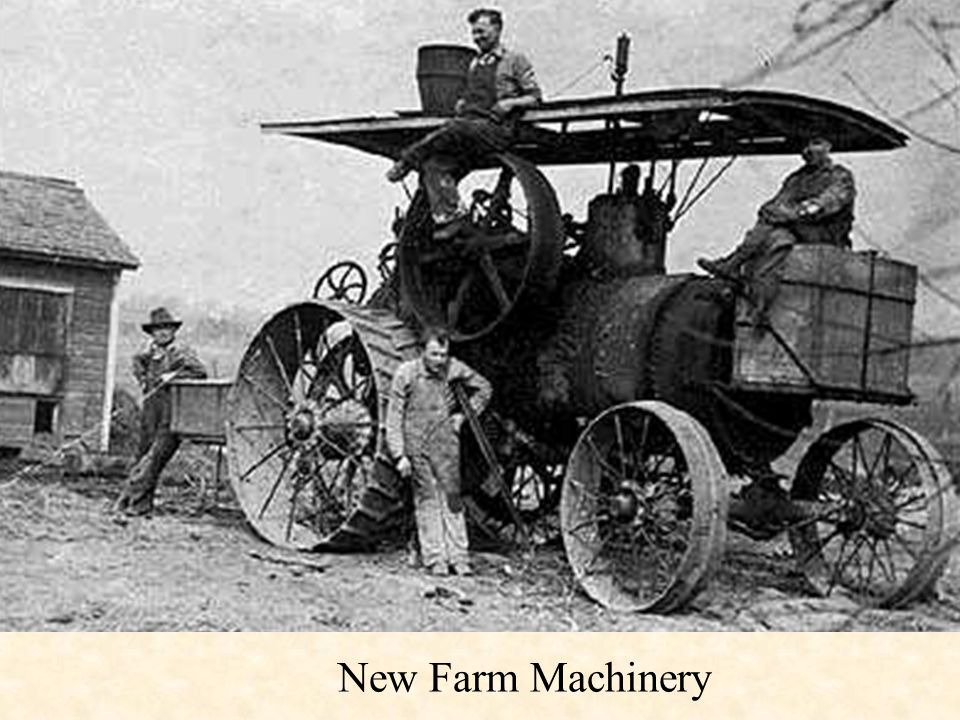 New Farm Machinery