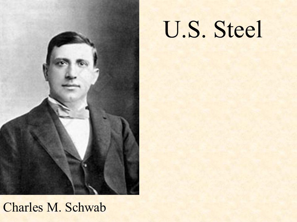 U.S. Steel Charles M. Schwab