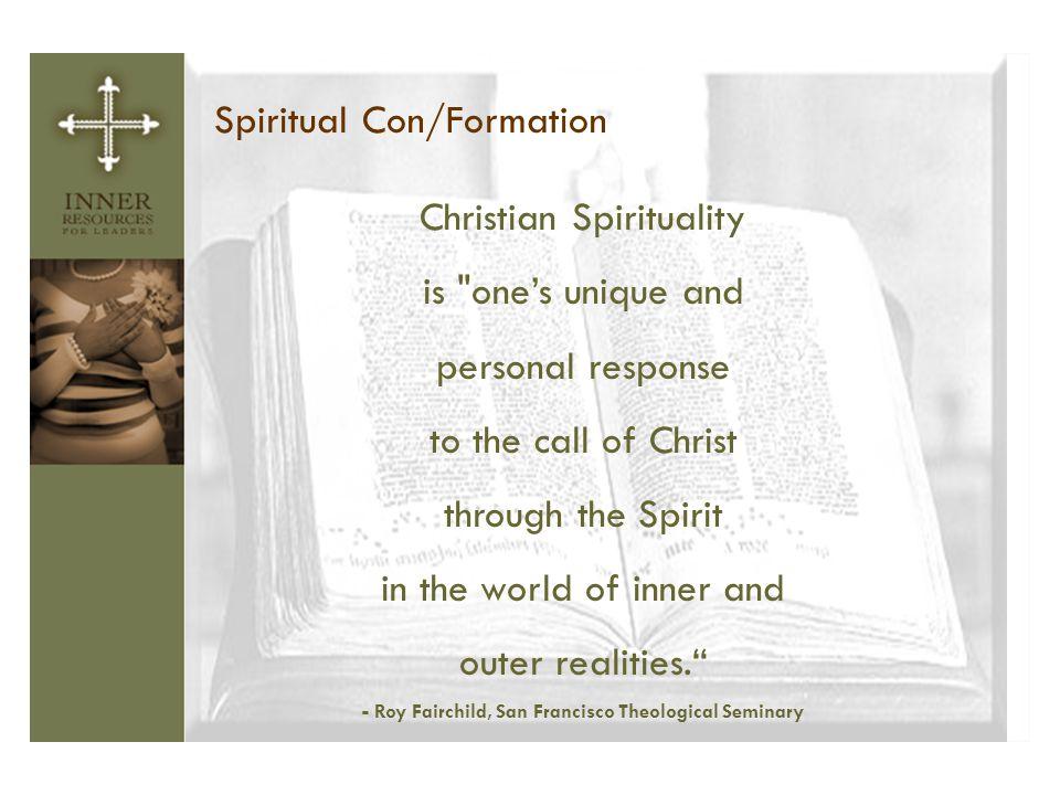 - Roy Fairchild, San Francisco Theological Seminary