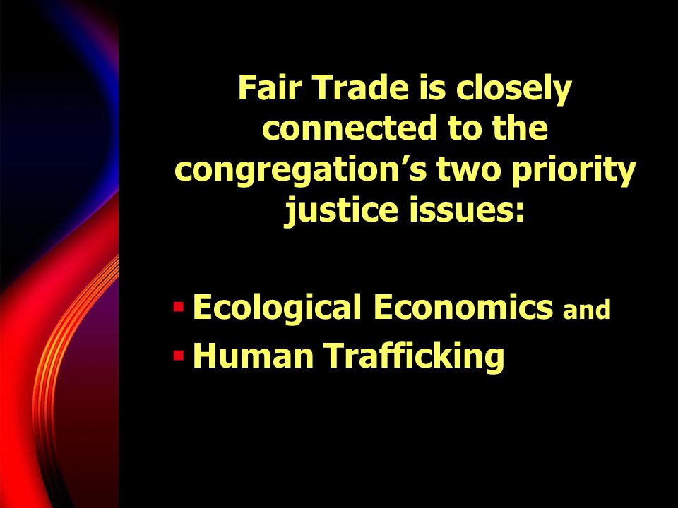 Ecological Economics and Human Trafficking