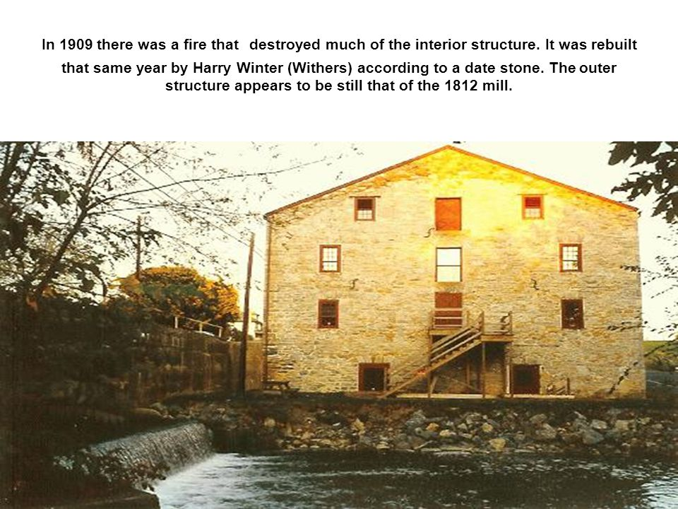 In 1909 there was a fire that destroyed much of the interior structure