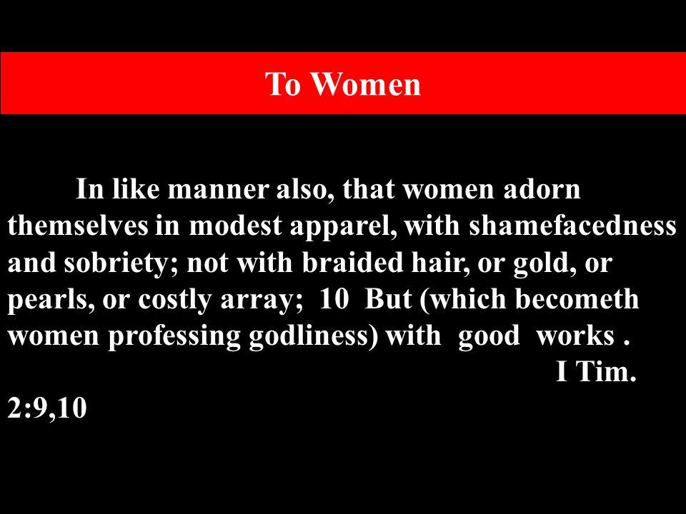 To Women
