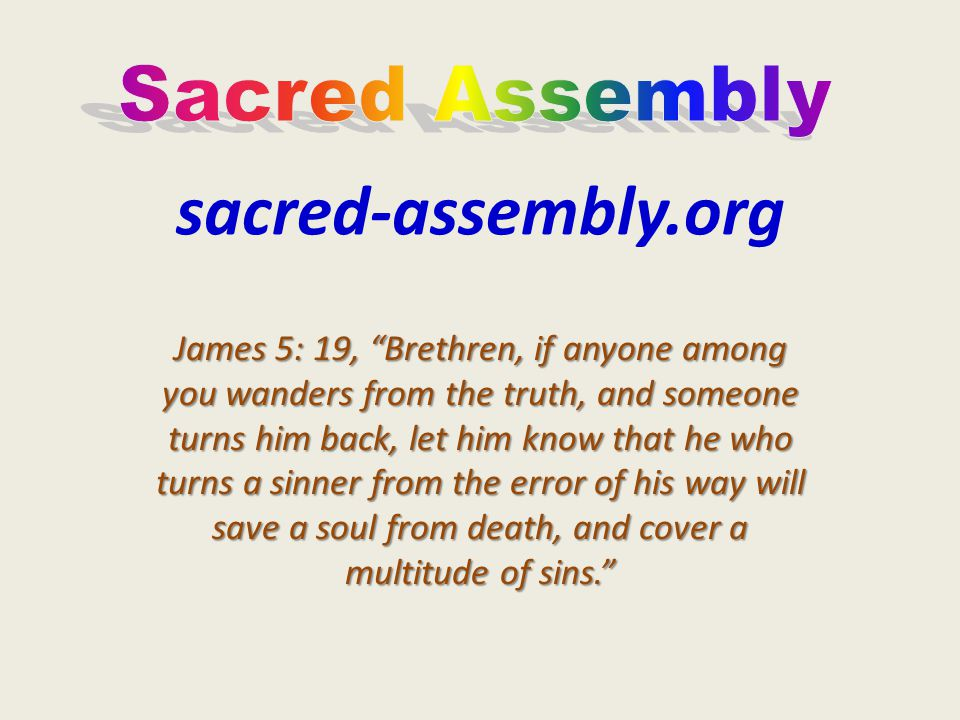 sacred-assembly.org Sacred Assembly
