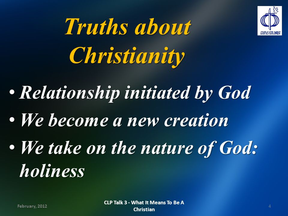 Truths about Christianity
